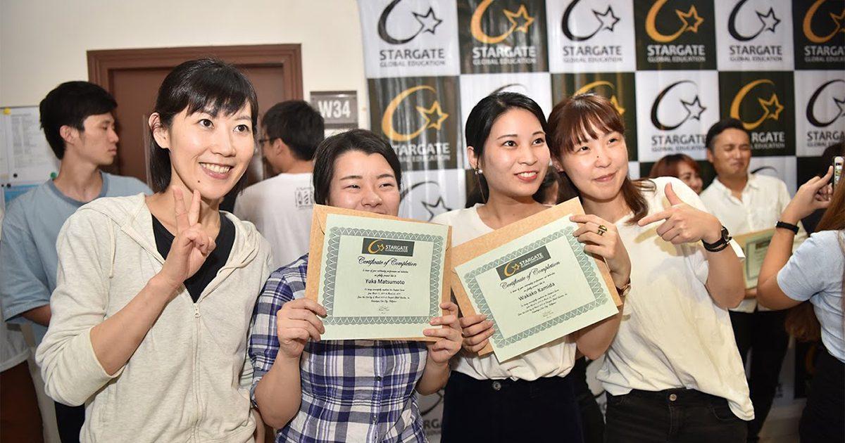 沖縄県 W.K.さん(20代・女性) Stargate 3週間留学