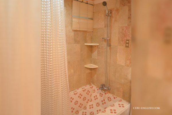 Geniusのシャワールーム