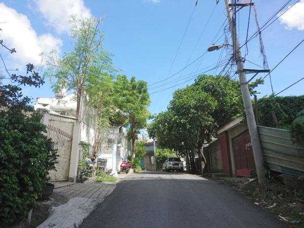 セブ島STARGATE 学校の前の道
