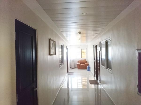 セブ島STARGATE 寮の廊下